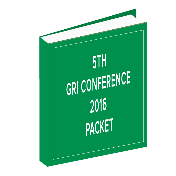 5th GRI Conference 2016 Packet