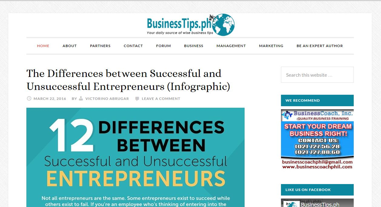 Top 40 Business Blogs in the Philippines - APEX Global