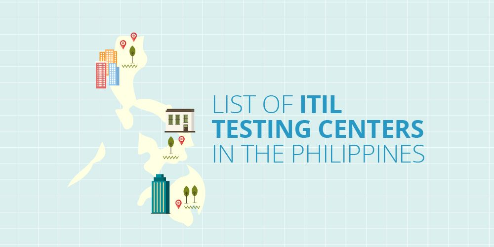 ITIL Testing Centers in the Philippines (Infographic)