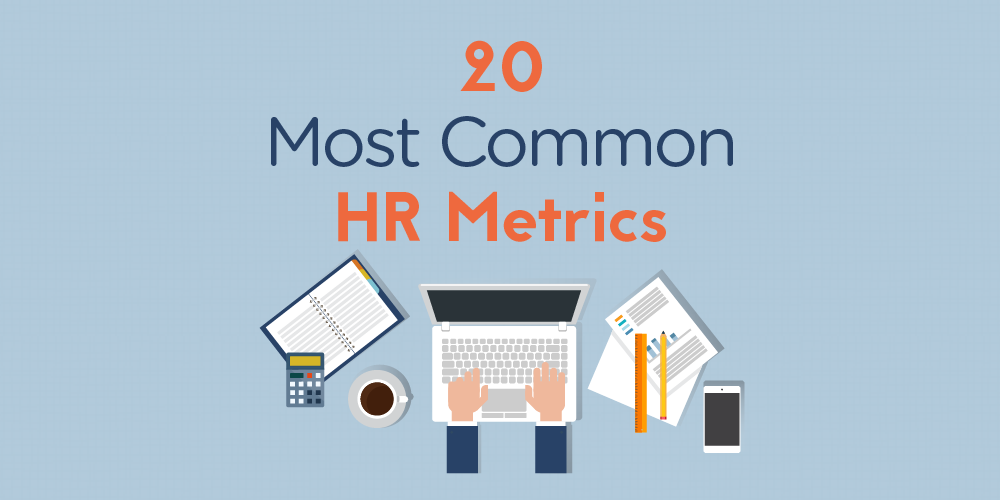 20 Most Common HR Metrics (Infographic)