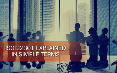ISO 22301 Explained in Simple Terms