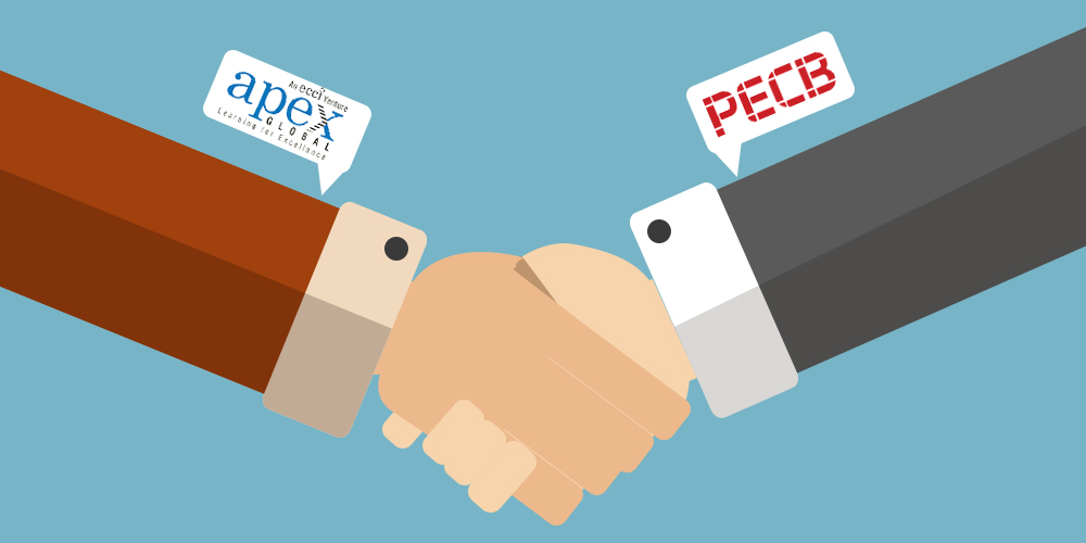 PECB has signed a partnership agreement with APEX Global Learning